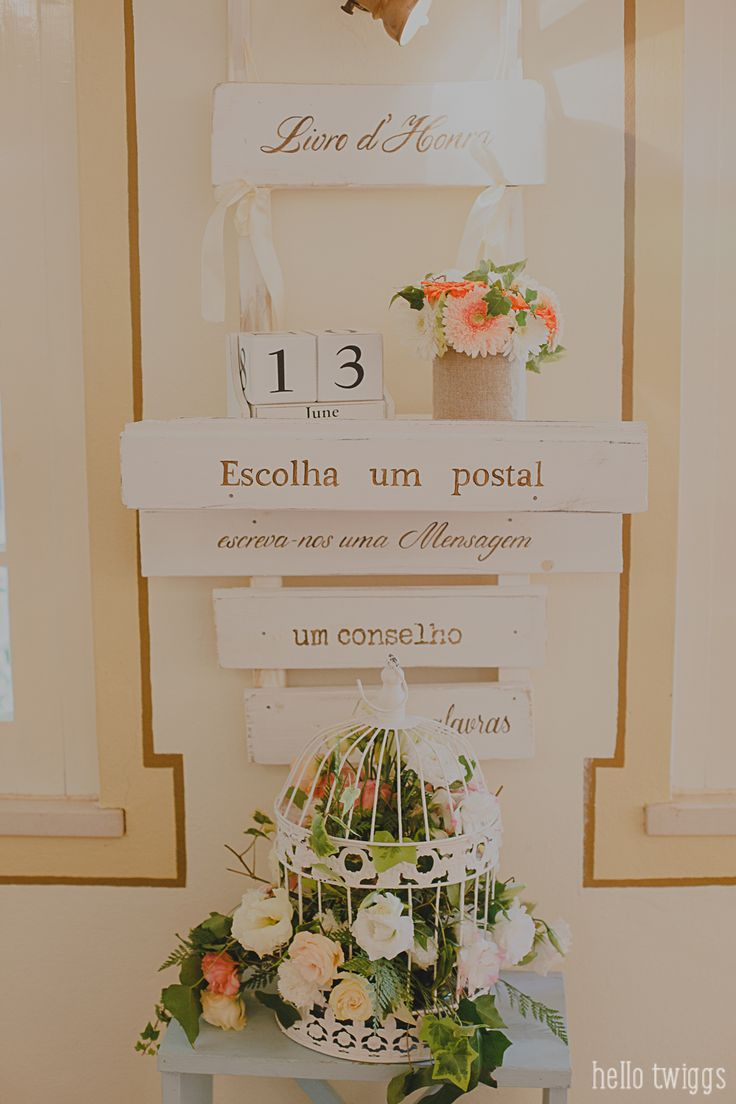 Party details - 'guests messages' Photo by Claudia Casal * Hello Twiggs