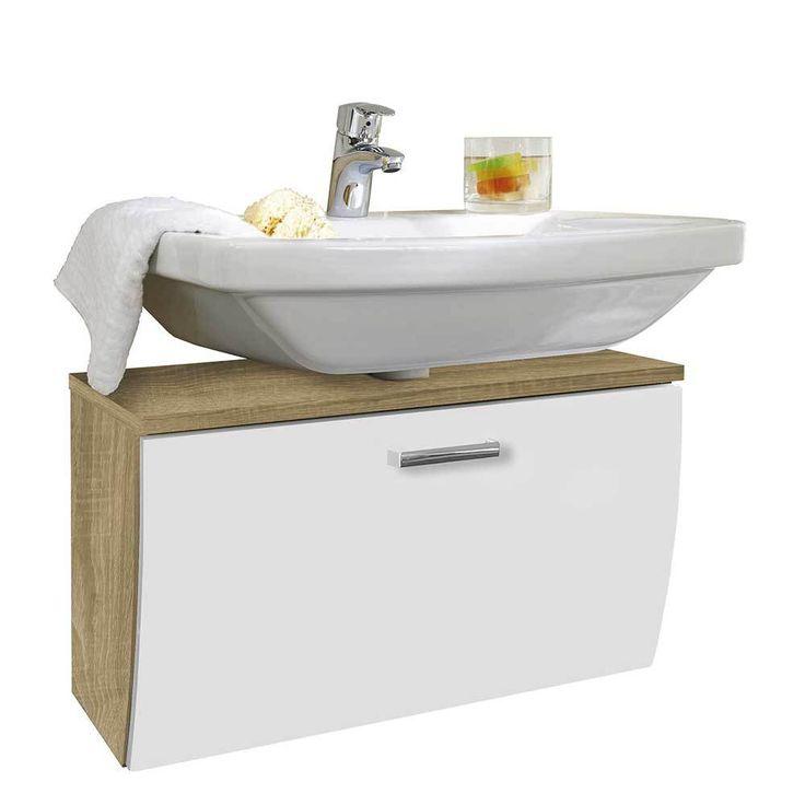 Waschtischkonsole mit Klappe Weiß Hochglanz Eiche Sonoma Jetzt bestellen unter: https://moebel.ladendirekt.de/bad/badmoebel/badmoebel-sets/?uid=6dd6fde5-a60b-5015-99bf-02b091158d36&utm_source=pinterest&utm_medium=pin&utm_campaign=boards #waschtischunterbau #waschschrank #badezimmerkommode #beis #bad #badmoebelsets #waschtischkonsole #waschbeckenunterschrank #badezimmerschrank #schrank #badschrank #badmoebel #waschbeckenschrank #waschtischunterschrank #waschtisch #badeschrank #waschkommode…