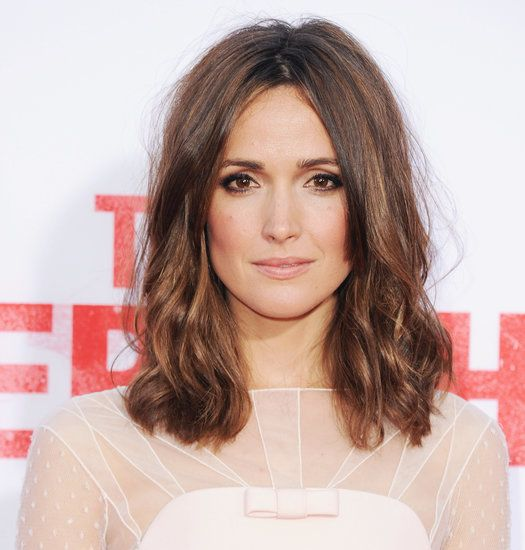 Pretty Rose Byrne Hair--love this hair and makeup @chelsealamay  u + this hair =