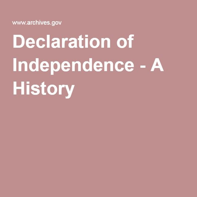 spirit of '76 declaration of independence