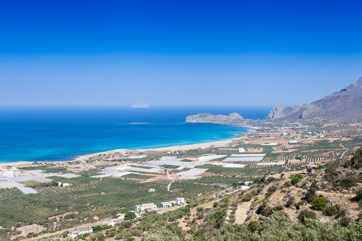 Falasarna bay, with five consecutive beaches. Falasarna has been awarded as the best beach in Crete and one of the ten best in Europe. #Greece #Crete #Chania #Terrabook #GreekIslands #Travel #GreeceTravel #GreecePhotografy #GreekPhotos #Traveling #Travelling #Holiday #Summer