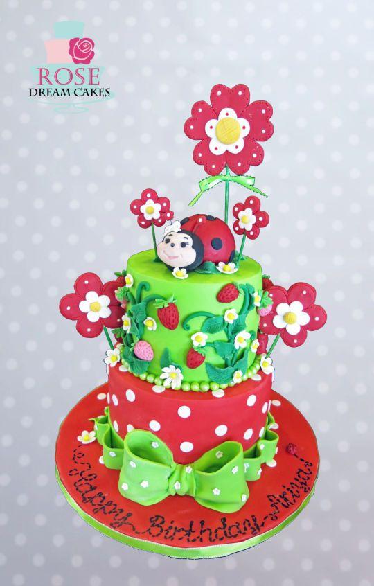 Happy Ladybug Cake