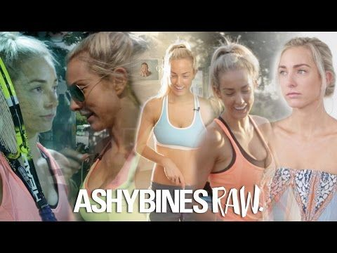 Because I just love her,,,,,,  Ashy Bines First Episode of Brand new series RAW - Fitness Model - reality tv show- - YouTube