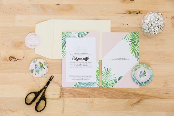 Convites de casamento bonitos, por Molde Design Weddings
