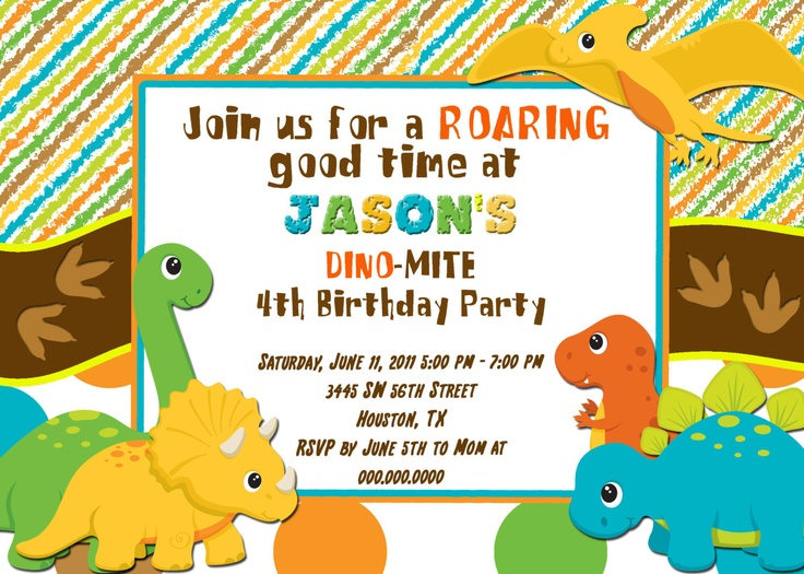 34 best Dinosaur Birthday Party images on Pinterest Dinosaurs