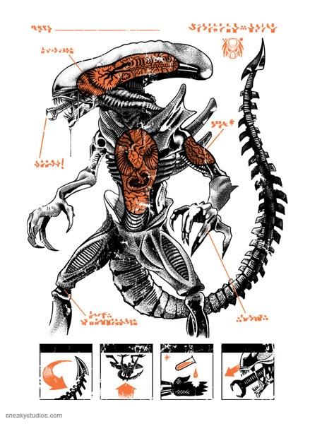 c48b9d5f7718e3c495fbffeff06a9cc8 alien concept alien vs predator alien bone structure www picsbud com