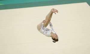 Amy Tinkler wins bronze for Great Britain.