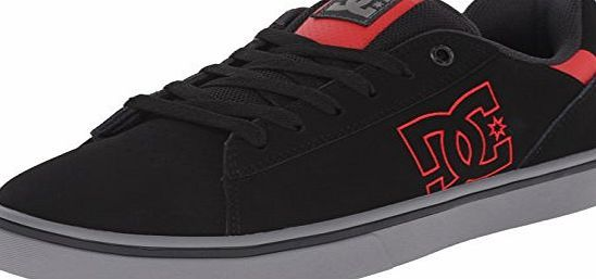 DC Shoes Notch Men US 10 Black Skate Shoe UK 9 EU 43 The DC Shoes Notch Athletic feature a Leather upper with a Round Toe. The Man-Made outsole lends lasting traction and wear. (Barcode EAN = 0888327404806). http://www.comparestoreprices.co.uk/december-2016-week-1/dc-shoes-notch-men-us-10-black-skate-shoe-uk-9-eu-43.asp