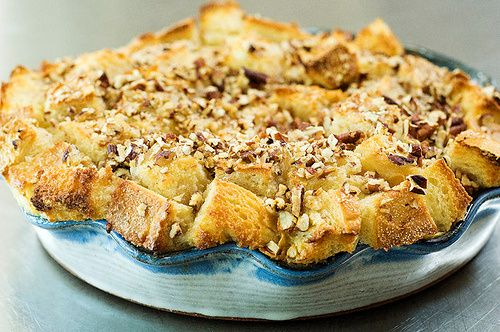 The best bread pudding... I didn't use sourdough and I used 1/2 cup less sugar, but it was still amazing