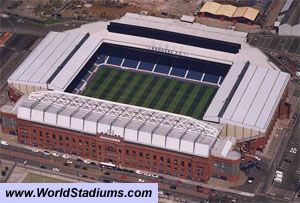 Ibrox Stadium, Rangers FC    Basically a religion to my family.