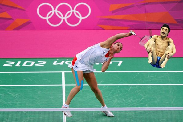 17. | 20 Photos Of Olympic Badminton Players Swatting Divers Like They're Flies