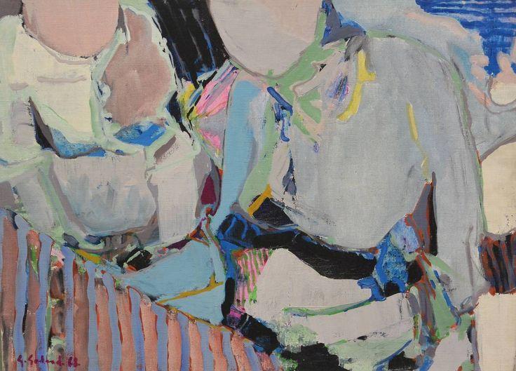 Deux laveuses - Gabriel Godard