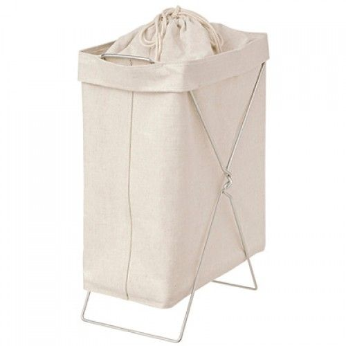 Cotton Linen Poly Landry Box with Stand