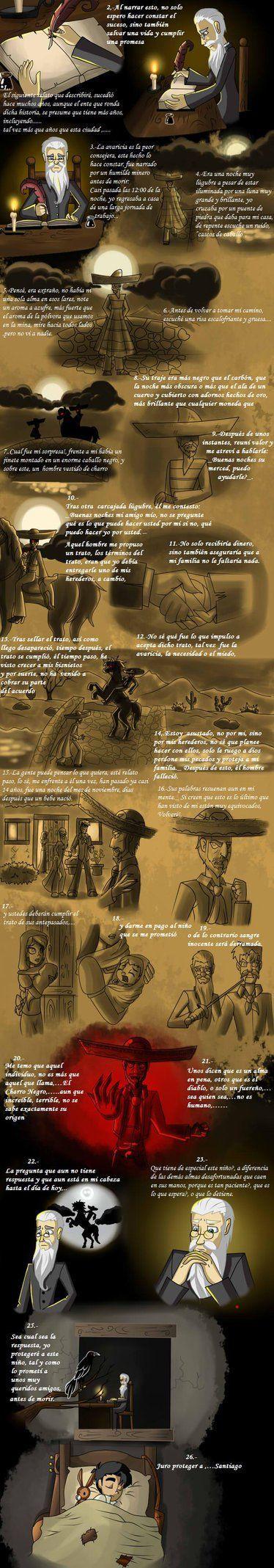 La Leyenda del Charro Negro by Cinco-Elementos on DeviantArt