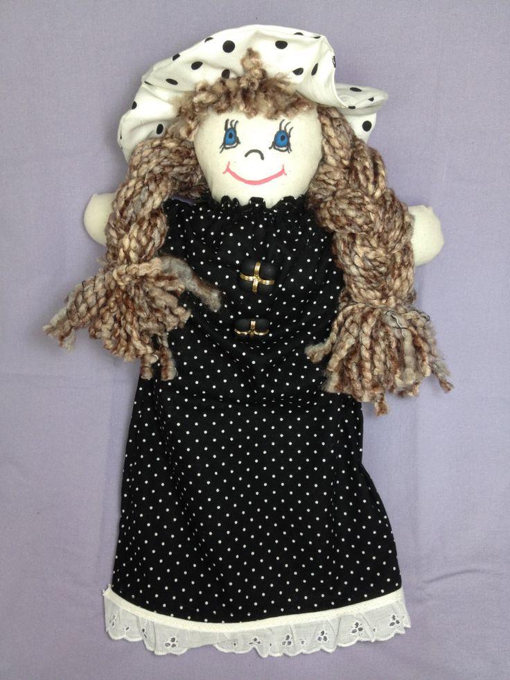 JenDoll #11 Handmade Rag Doll by JenDolls on Etsy