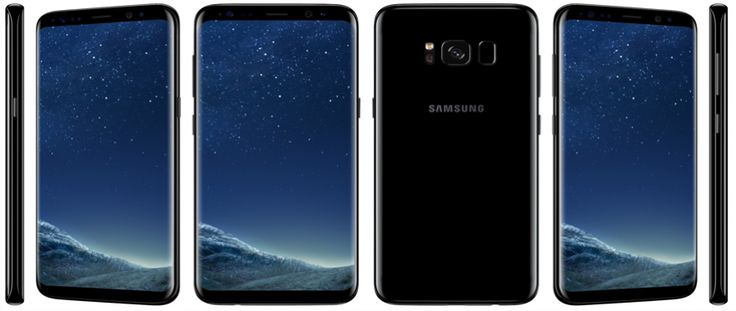 Samsung Galaxy S8 display security in retail stores