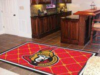 Ottawa Senators 5' x 8' Rug. $199.99 Only.