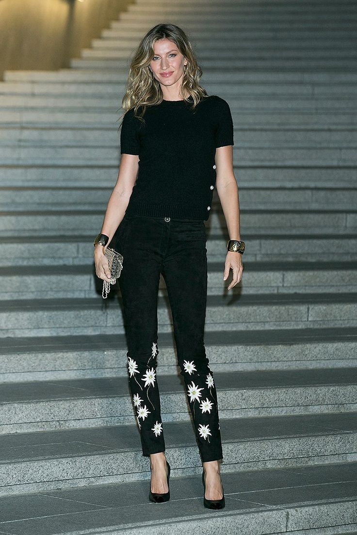 WHO: Gisele Bündchen WHAT: Chanel WHERE: Chanel resort 2016 show, Seoul WHEN: May 4, 2015