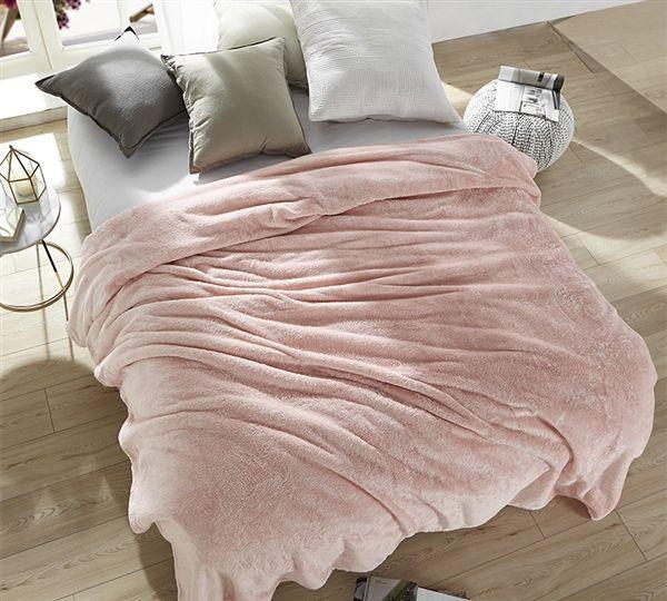 Pretty Pink Oversized King Blanket