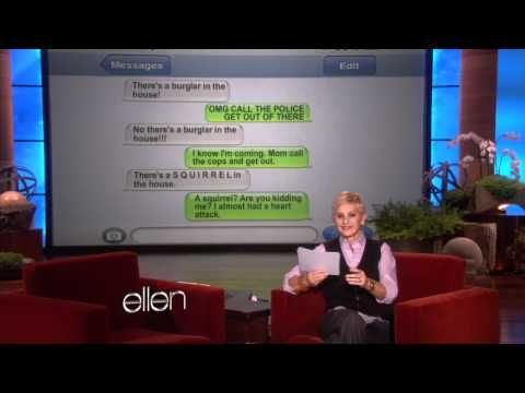 Ellen has another round of Clumsy Thumbsy, and these autocorrect mistakes are even more hilarious than the previous installment! Warning: Your stomach may hurt from laughing after you watch it.    Do you have a funny autocorrect? Show us here. http://ellen.warnerbros.com/show/respond/?PlugID=583