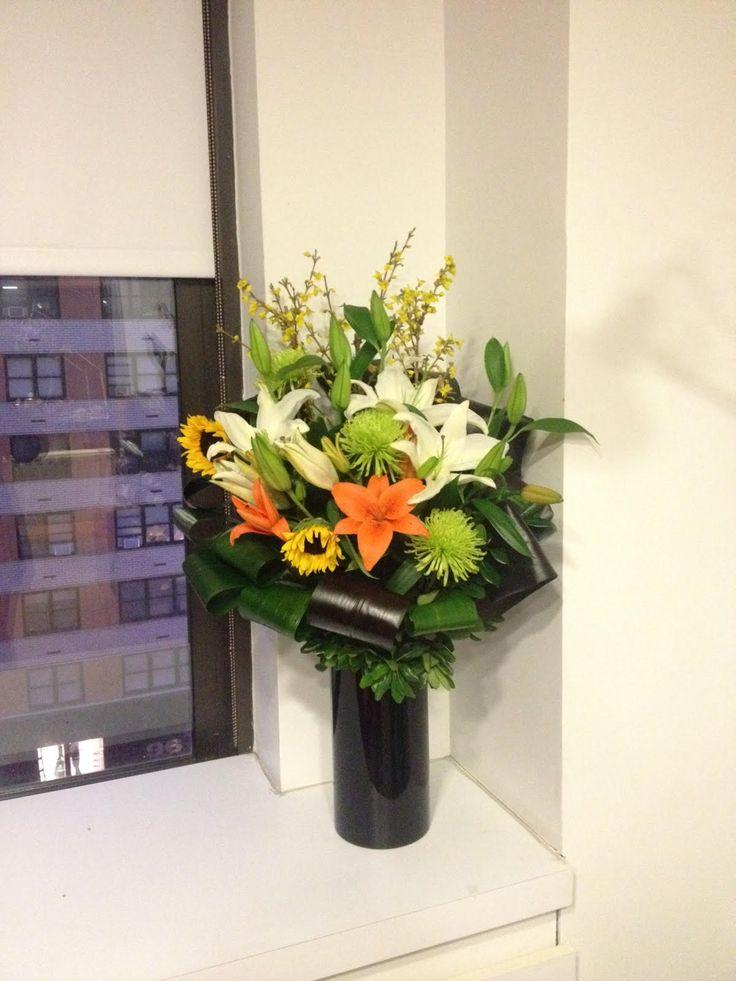 24 best Office Arrangement NYC images on Pinterest | Nyc, Florists ...