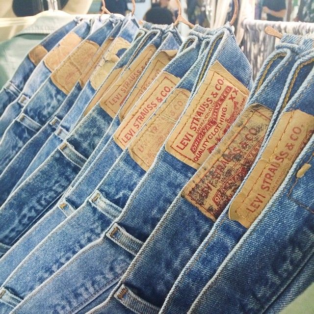 Bliss And Mischief's stock of vintage Levis 501s