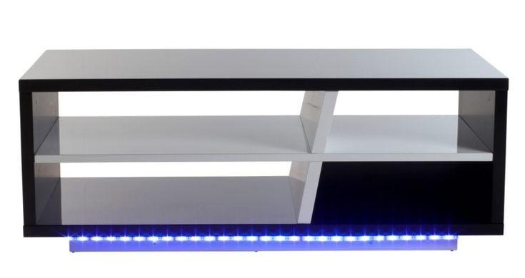 Table basse LED TOKYO Noir et blanc