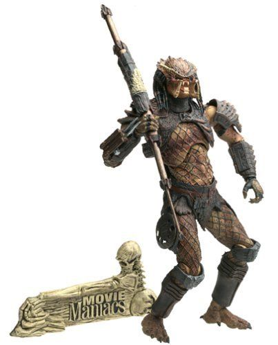 McFarlane Toys Movie Maniacs Series 6 Alien and Predator Action Figure Predator the Hunter by McFarlane Toys. $24.24. Predator 2 the Hunter - Mcfarlane Movie Maniacs Series 6 Alien Vs Predator Action Figure. Amazon.com                Part of the Movie Maniacs 6 series from McFarlane, this 8-inch Hunter figure is detailed right down to its scaly feet. It's covered in bits of coppery plastic armor and articulated at the neck, shoulders, elbows, wrists, waist (twice), legs,...