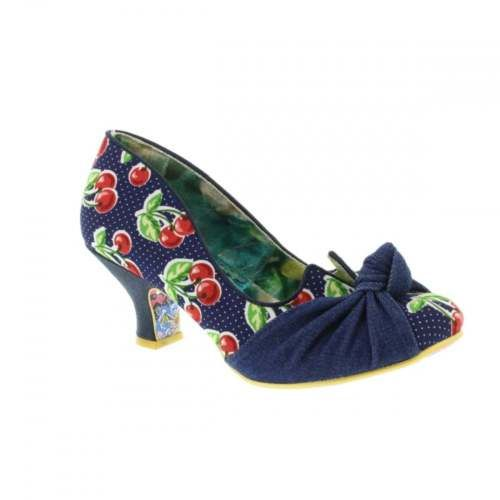 Irregular-Choice-Dazzle-Pants-Blue-Cherry-Ladies-Party-Heels-Various-Sizes