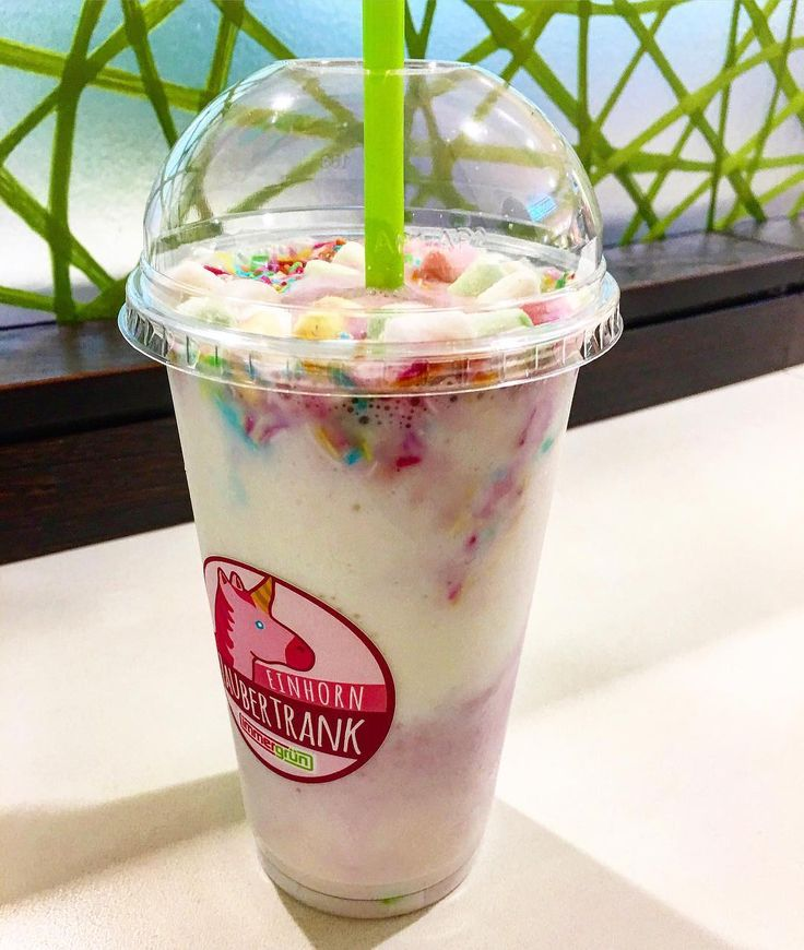 """Unicorn Smoothie – Immergruen 