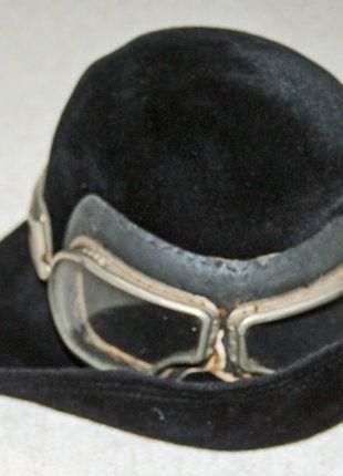 Kaufe meinen Artikel bei #Kleiderkreisel http://www.kleiderkreisel.de/accessoires/hute/138894303-steampunk-hut-mit-fliegerbrille