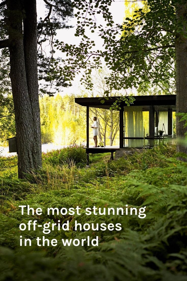 Want to live off grid You will after seeing these homes   Off ...