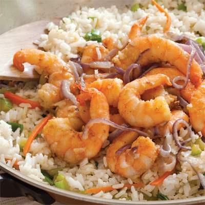 Claudius's Louisiana Stir-Fry Shrimp Recipe | Cajun ...