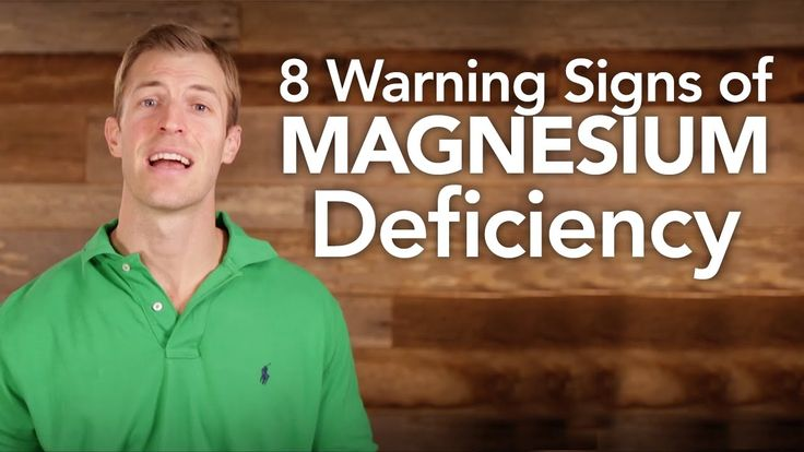 8 Warning Signs of Magnesium Deficiency  http://www.draxe.com #health #holistic #natural