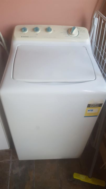 5.5kg simpson washing machine $180 #rangloo, #bar, #accessories
