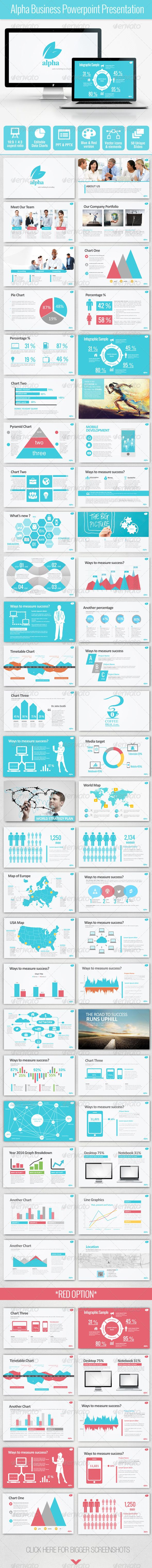 Alpha Business Powerpoint Presentation (Powerpoint Templates)