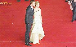 When Josh tried to make an entrance to the group photo and Jennifer welcomed him with open arms: