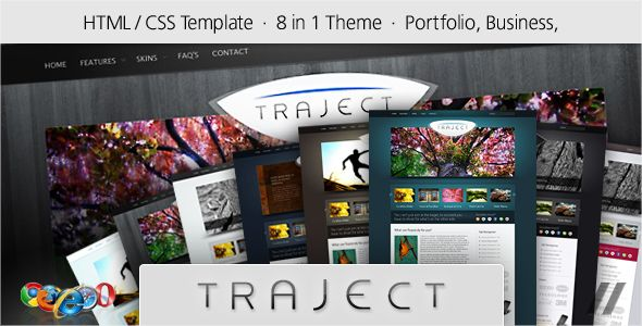 Traject is a new way of showcasing your products and service to your website visitors. Designed from the ground up to bring attention to your most important information first, Traject makes content...