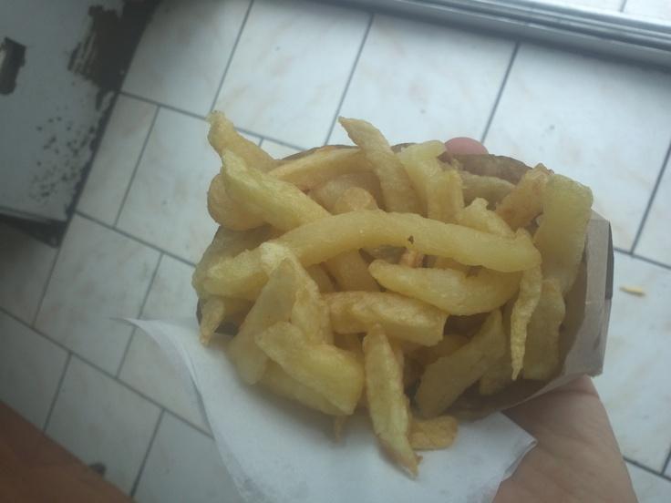 Una de las mejores picadas de papas fritas en #Temuco #MacPapas