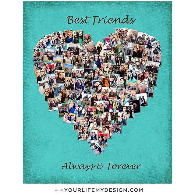 Best Friend LVE!! ❤️24x30 with 97 photos ❤️best friends collage by #yourlifemydesign #etsy #etsyhunter #etsysellers #cute #bf #love #awesome #goodtimes #goodfriends #smile #besties #friends #best #chill #funny #forever #bestfriend #bff #memories  #instagood #goodtime #bestfriends #lovethem #fun #party #happy #friendship #friend #photooftheday sent via @latergramme