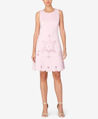 Catherine Malandrino Noemi Crochet-Inset Dress