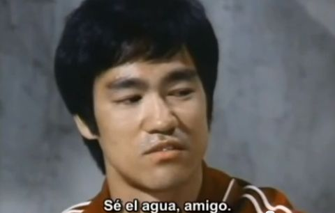 SylK's Playground: Bruce Lee 'Be Water'