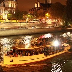 VIP Evening Combo: Skip-the-line 2nd Floor Access to Eiffel Tower & Champagne Cruise