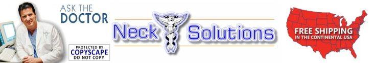 neck pain relief; website