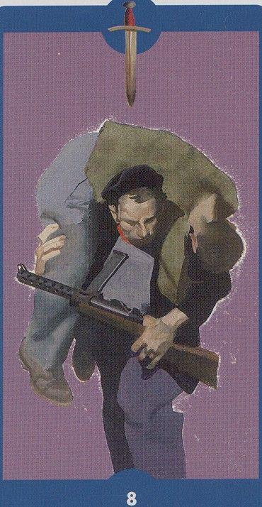 8 of Swords - Tarot of the Imagination