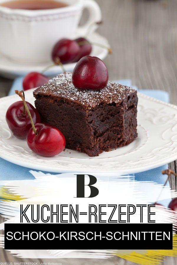 Schoko Kirsch Schnitten Rezept Winter Kuchen Schoko Kirsch Kuchen Und Saftiger Schoko Kirsch Kuchen