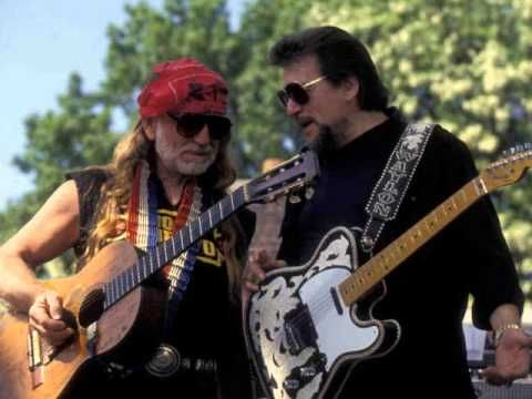 "Waylon Jennings & Willie Nelson ""Mama's Don't Let Your Babies Grow Up To Be Cowboys"""