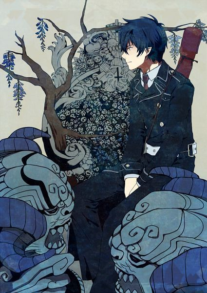 rin okumura fan art - Google Search