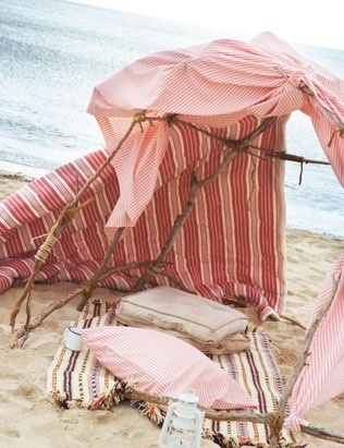 Everything Pink Beach Shelter