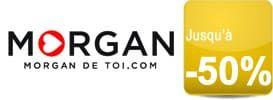 """Jusqu'à -50% avec la """"Magic Party"""" sur Morgan.com"""